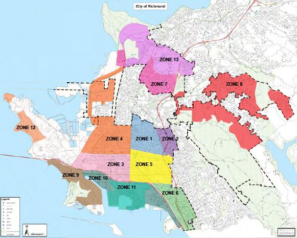 Richmond Ca Map Urban Greening Master Plan | Richmond, CA   Official Website