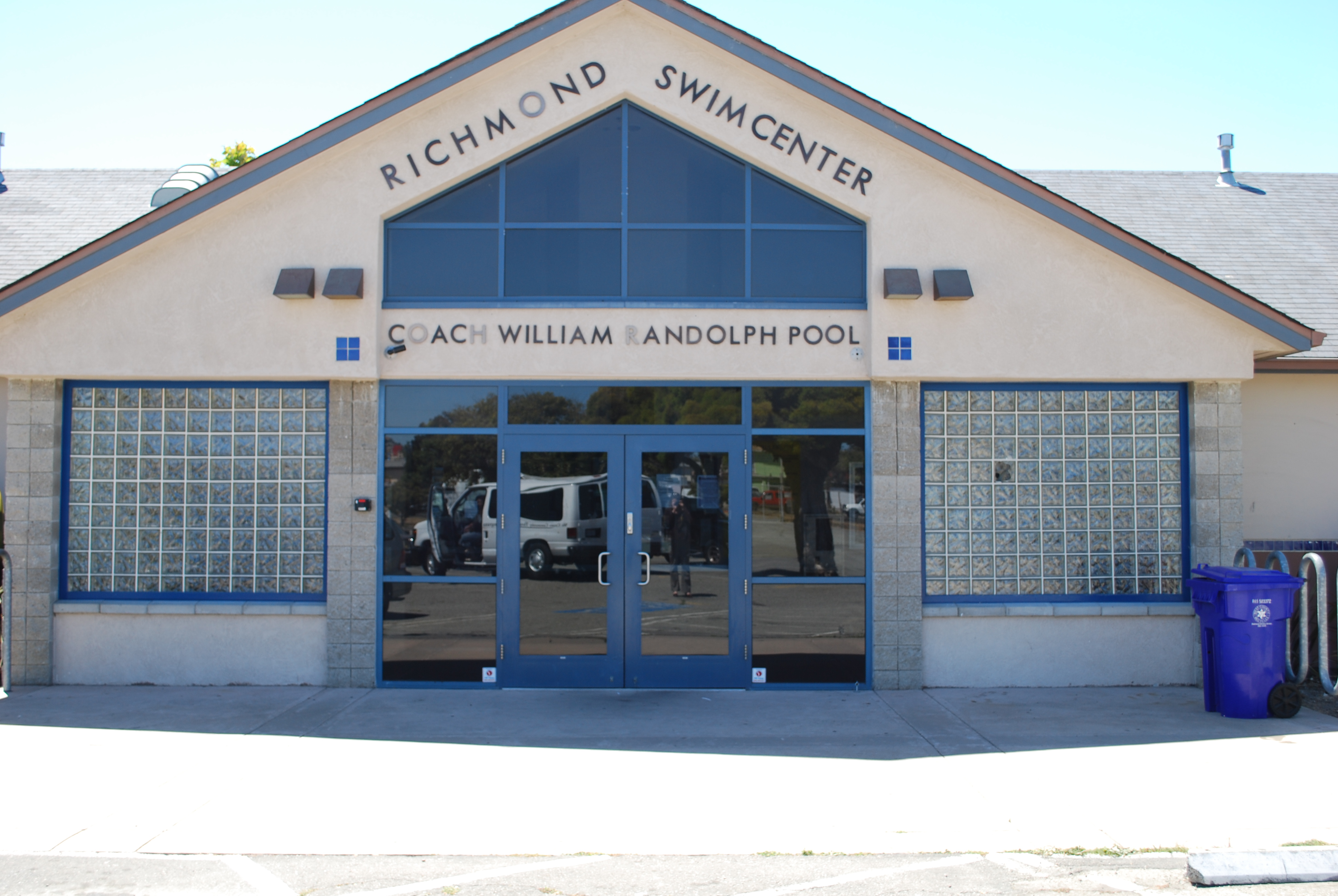 Front of Richmond Swim Center