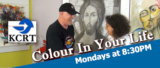 Promotional Banner for Colour In Your Life, airing Fridays at 8:30PM