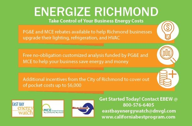 Energize Richmond Small Business Flyer English