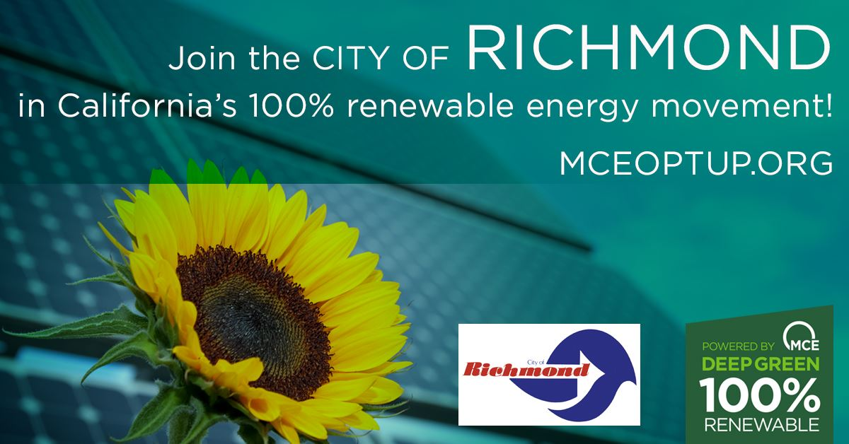 MCE Deep Green Energy- City of Richmond