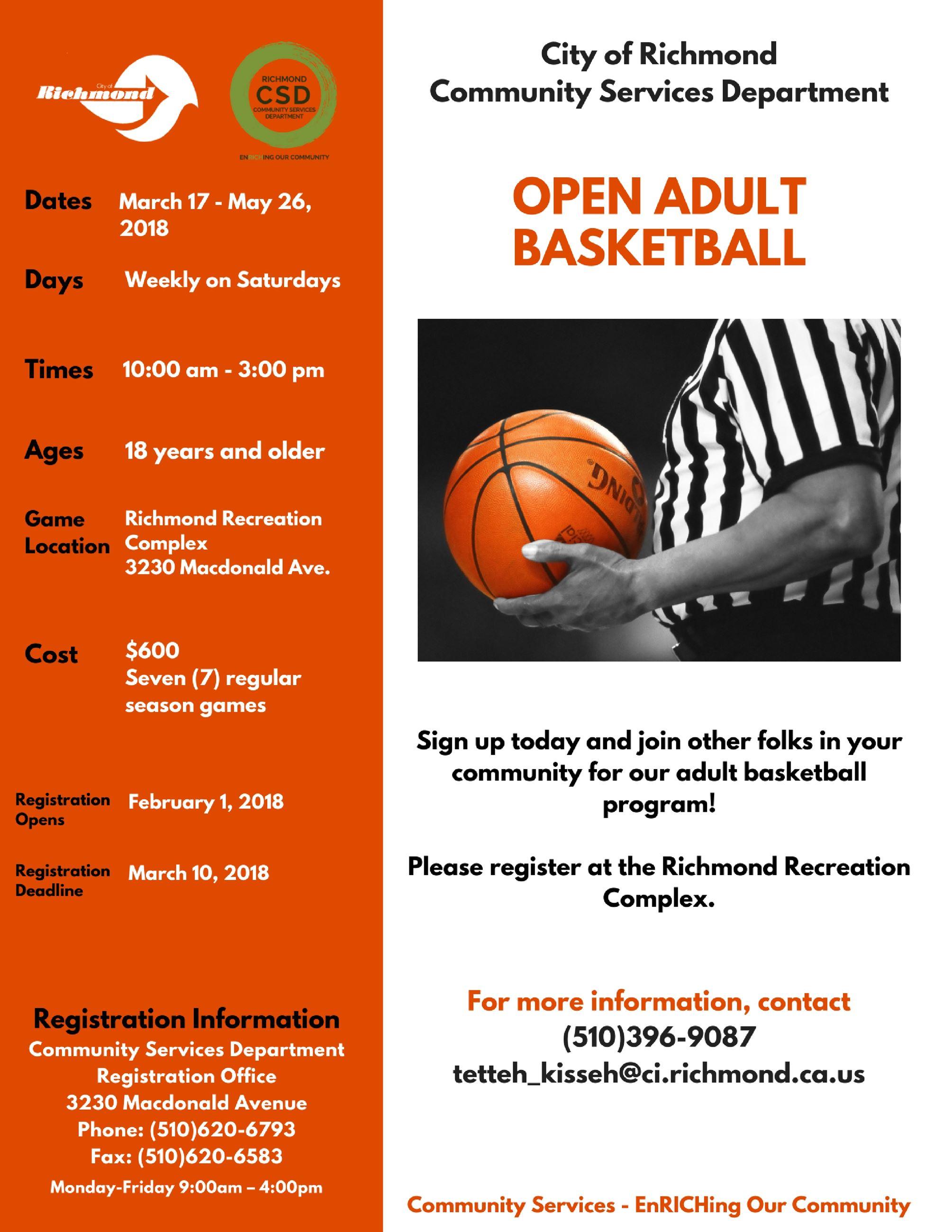 8.5x11 Adult Basketball