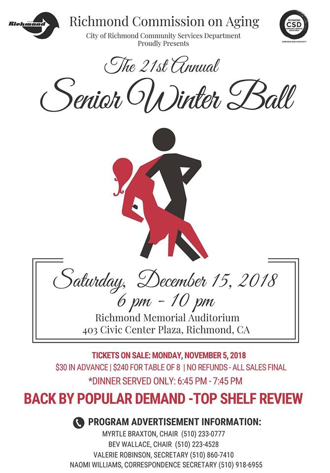 2018 Senior Winter Ball Postcard