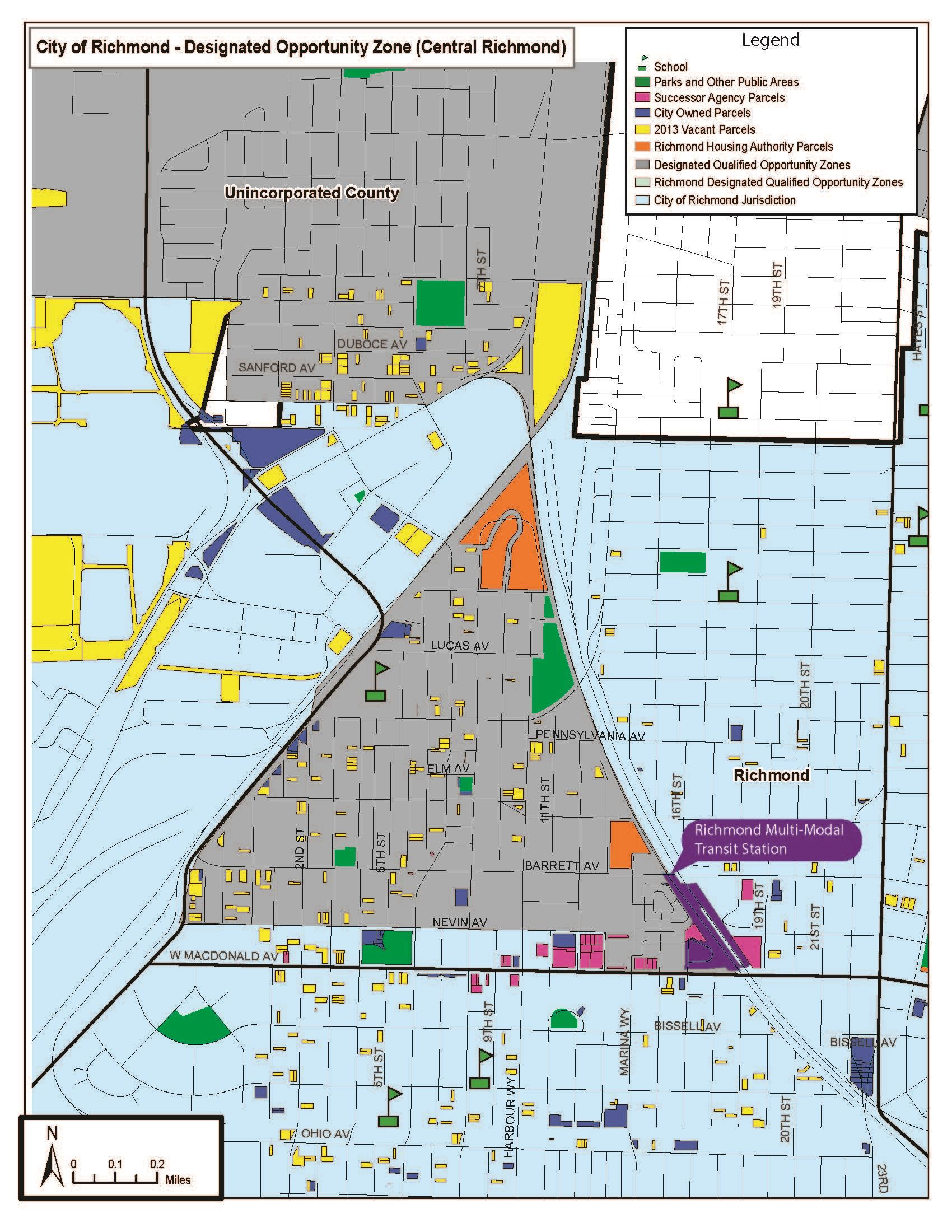 Designated Opportunity Zone In Richmond Richmond Ca Official