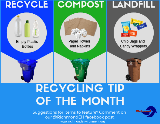 Recycling Tip of the Month April
