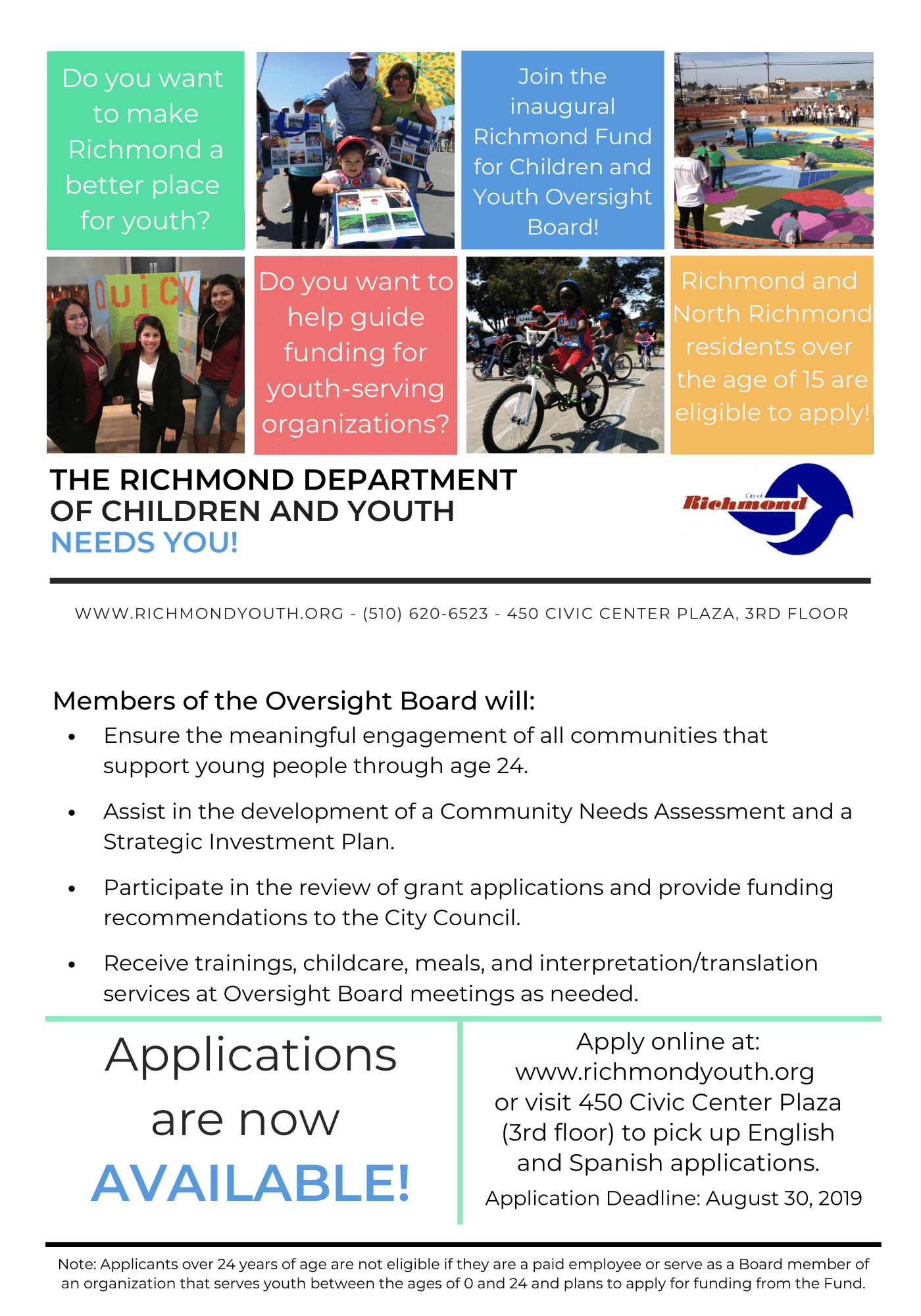 Oversight Board Flyer (English)