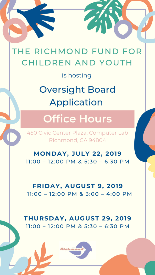 Oversight Board Application Office Hours