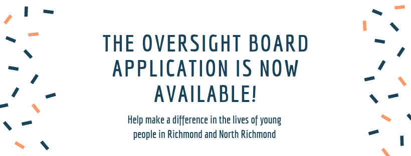 Oversight Board Application Now Available!