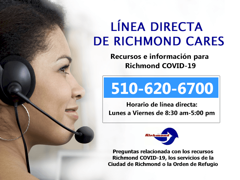 The Richmond Cares Hotline - Spanish