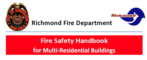 Richmond Fire Dept. Fire Safety Handbook for Multi Residential Properties_English