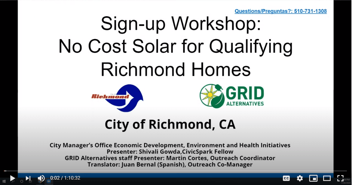 GRID Workshop Presentation