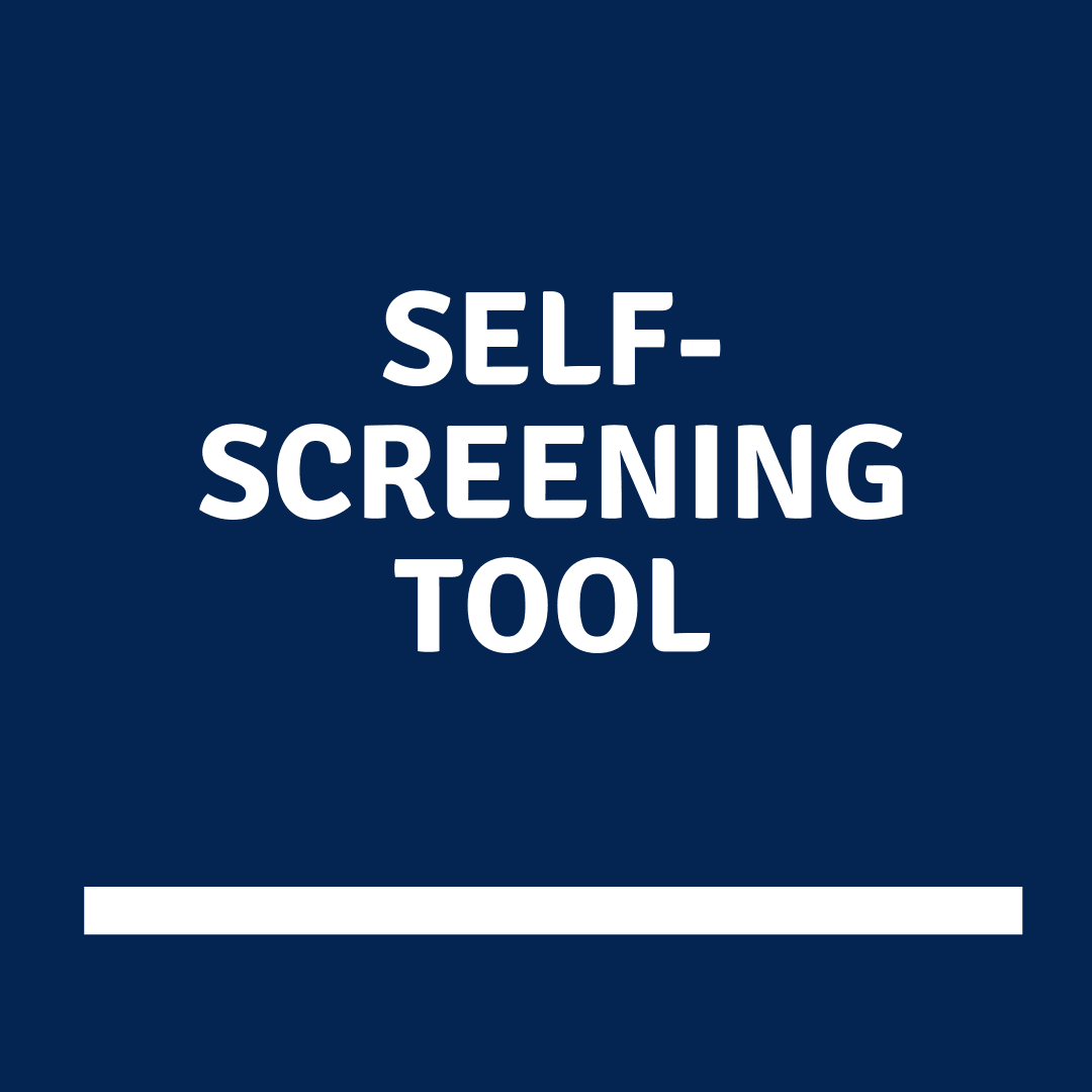 COVID self-screening tool