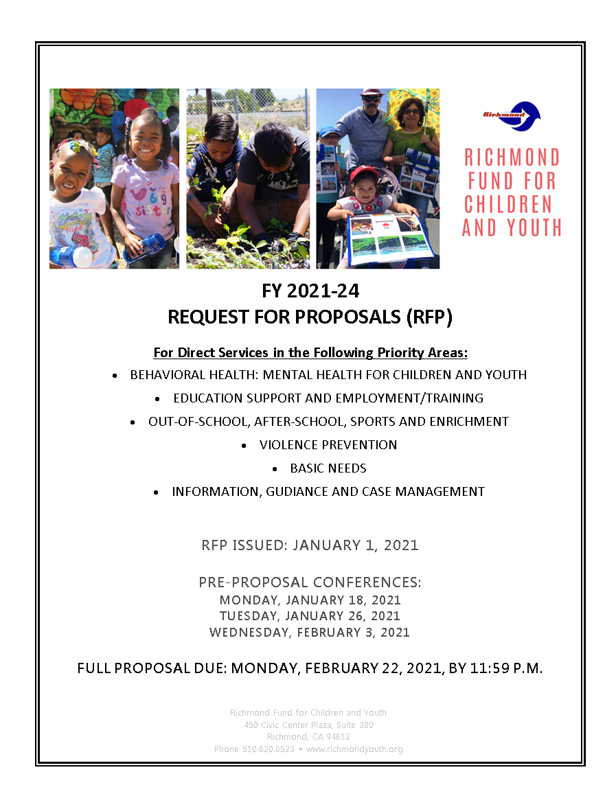 RFCY FY 2021-24 Request for Proposals