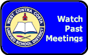 Watch WCCUSD Meeting online at KCRT