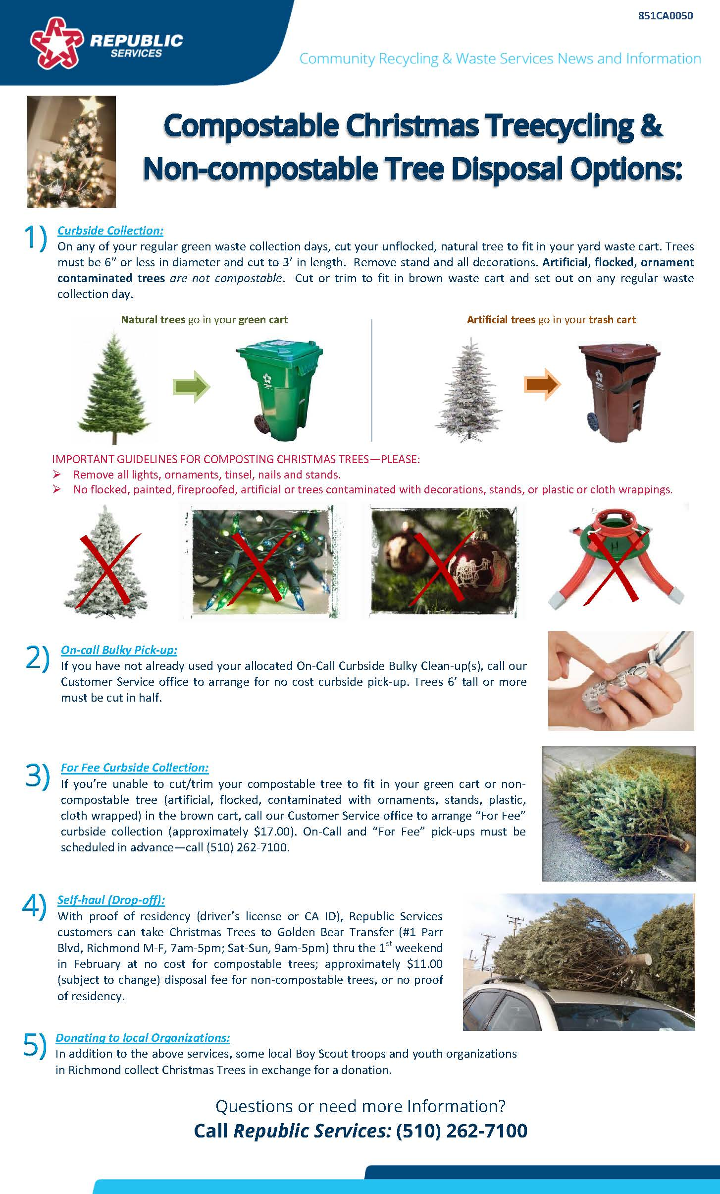 Richmond 2017 Christmas Tree flyer