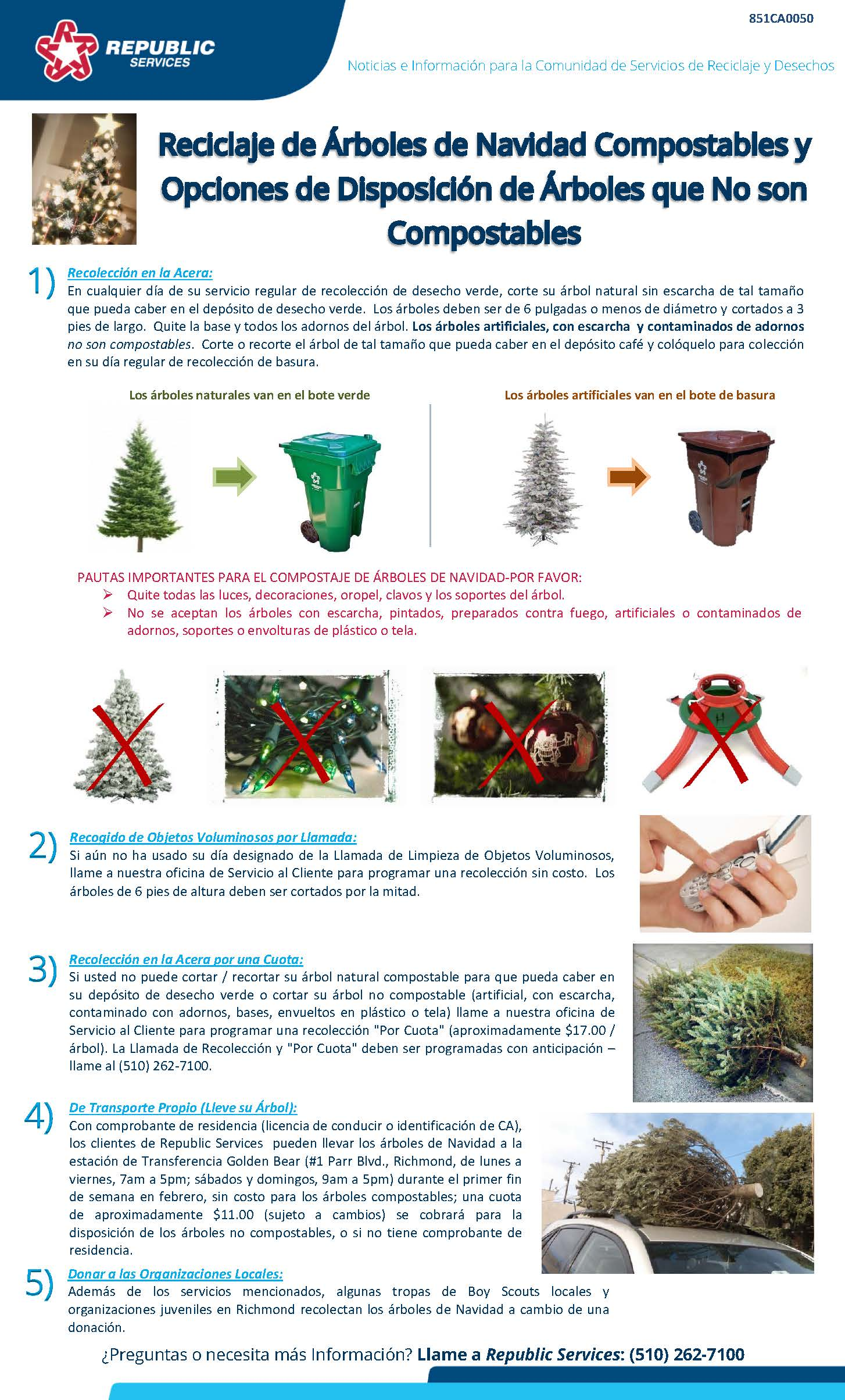 Richmond 2017 Christmas Tree Spanish flyer